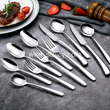 Non-Magnetic Thickening 4mm Stainless Steel Tableware